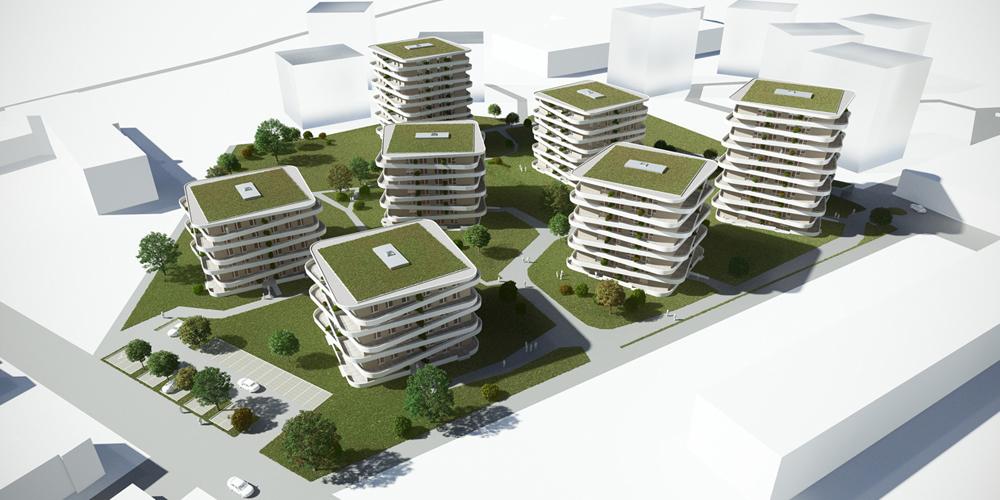 Schwarz Bauprojekt GmbH Green City Graz
